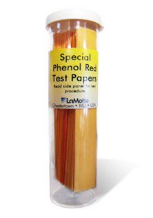 phenol red test papers for monitoring the pH changes in cell culture